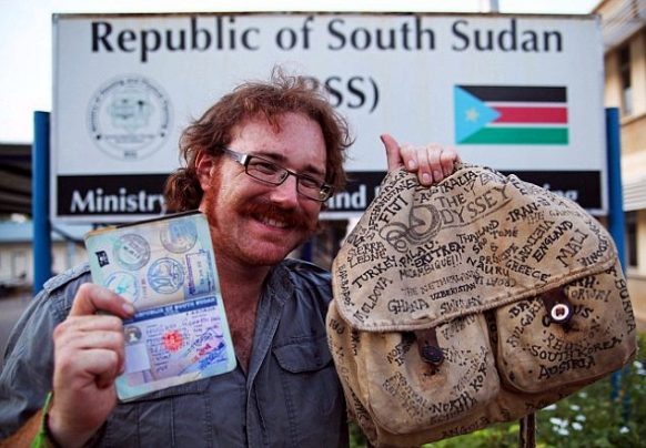 Traveller becomes the first man to visit every country in the world Featured Image