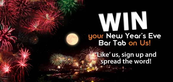 Win Your New Year&#8217;s Eve Bar Tab on gapyear.com! Featured Image