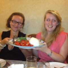 Buffalo mozzarella the size of your head...