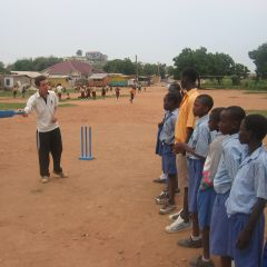 Voluteer Coaching Cricket