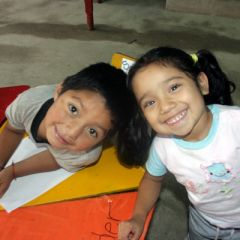 Guatemalan Kids in Creche