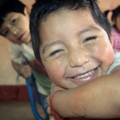 Guatemalan boy in Creche
