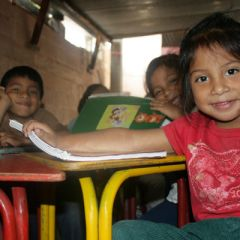 guatemalan Girl in Creche