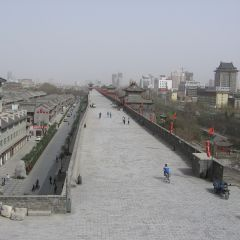 Ancient city wall in xian