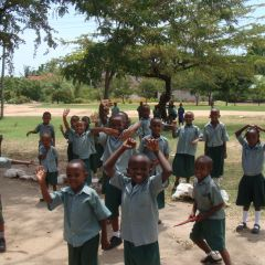 Children at jecaan nursery and primary-dar-photo by frances jemini