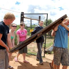Volunteering - baboon camp 3