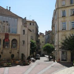 Place saint roch - centre of montpellier