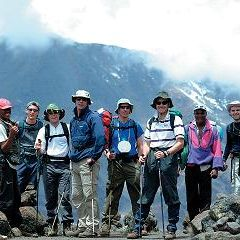 Team near kili