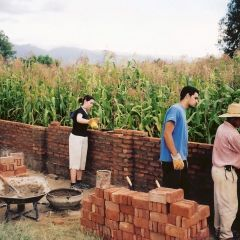 Building an orphanage in Bolivia