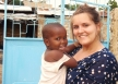 Volunteer in Kenya working in an Orphanage.