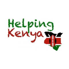 Helping Kenya.
