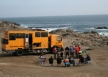 Camping on the Peruvian coast