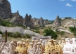 The rock formations of Cappadocia