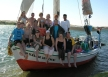 Group on felucca
