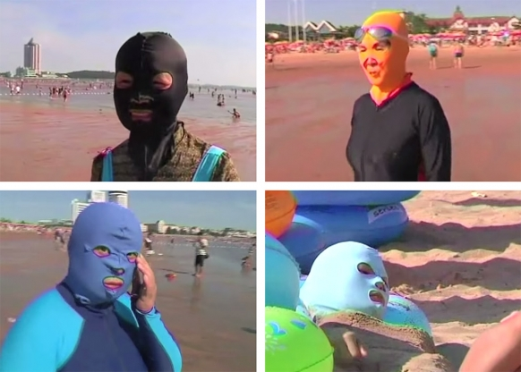 Face-kini craze hits Chinese beaches Featured Image