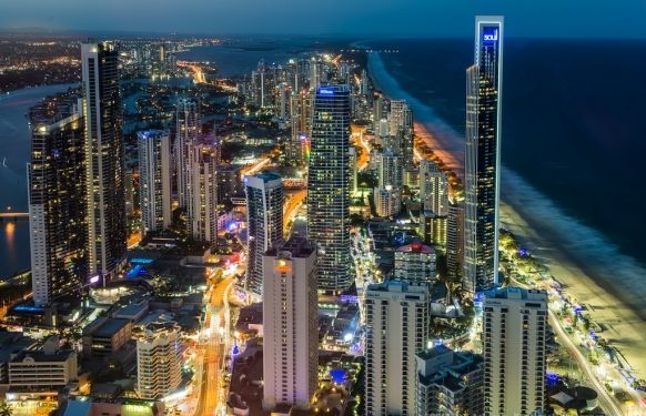 One Night in Surfers Paradise, Australia Featured Image