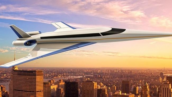 New jet to fly NYC to London in 3 hours Featured Image