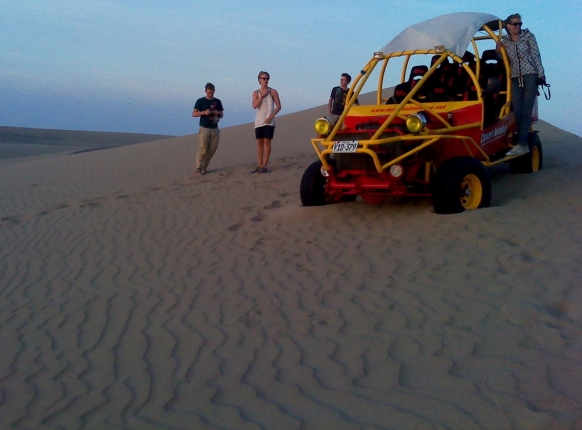Sandboarding in Peru on a Gap Year Featured Image