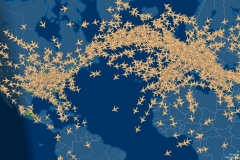 The number of planes in the sky right now will blow your mind Featured Image