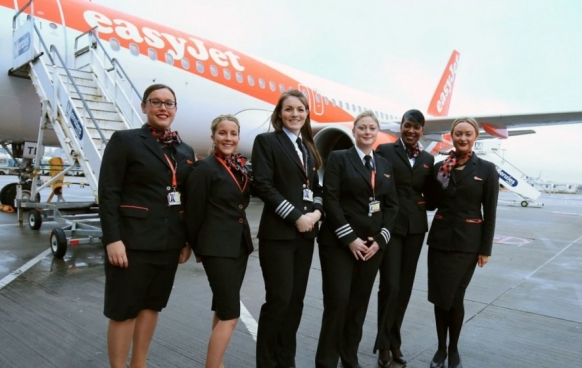 EasyJet flies an all-woman crew to mark International Women's Day Featured Image
