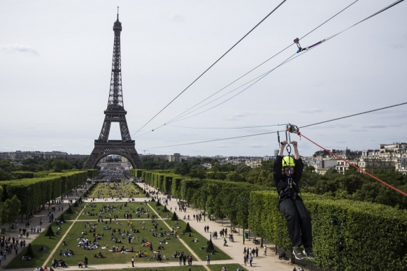 Fancy zip lining down the Eiffel Tower? Featured Image