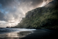The Bleak, Black Beaches of Iceland Featured Image