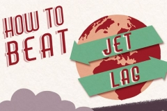 Infographic: How to Beat Jet Lag Featured Image