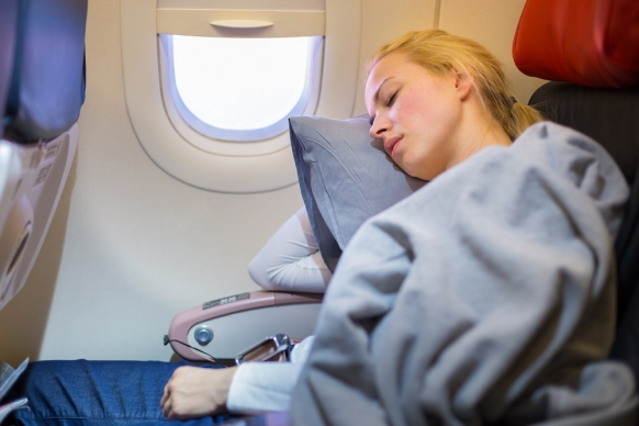 12 Top Tips to Help You Sleep on a Flight Featured Image