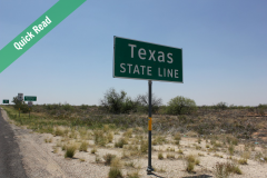 Having a Wee on the Texas State Line Featured Image