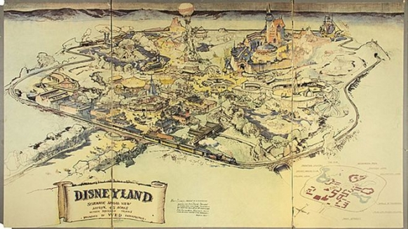 The first Disneyland map sells for £555k Featured Image
