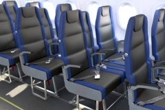 New plane seats make middle magnificent Featured Image