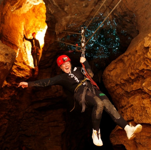 Caving, Abseiling and Black Water Rafting Featured Image