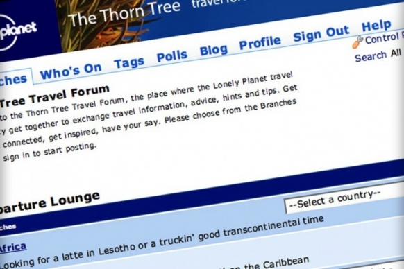Lonely Planet travel forum closes Featured Image