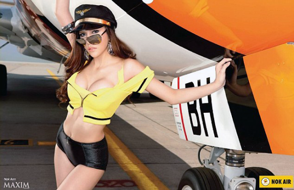 Airline calendar just too damn hot Featured Image