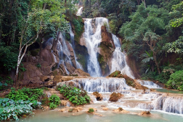Exploring Waterfalls & Getting Wet in Laos Featured Image