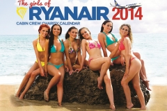 Ryanair reveals new sexy calendar Featured Image