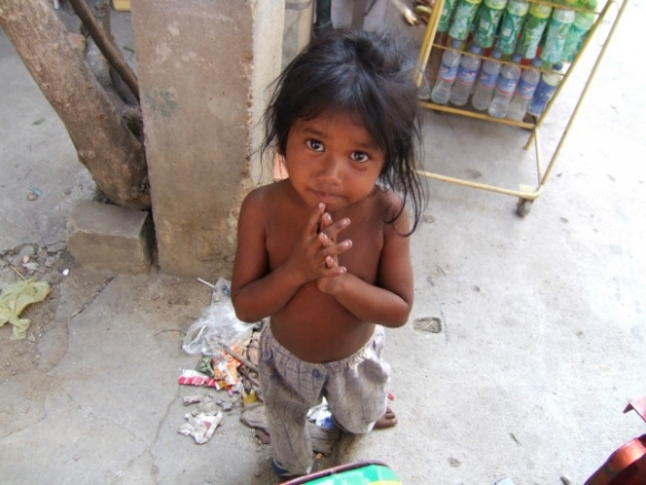 Child Beggars on the Cambodian Border Featured Image
