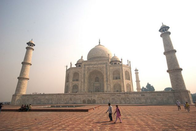 Take time out to visit the Taj Mahal in India