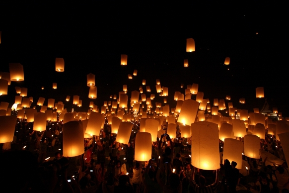 Loi Krathong Lantern Festival Thailand Featured Image