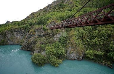 Bungee Off a New Zealand Bridge