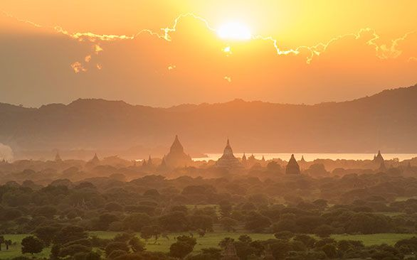 Cycle across Burma