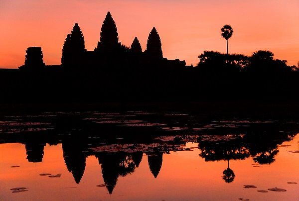 Angkor Wat at sunrise