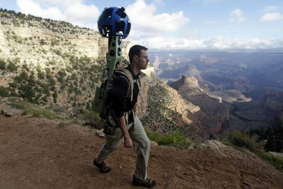 Google maps the Grand Canyon Featured Image