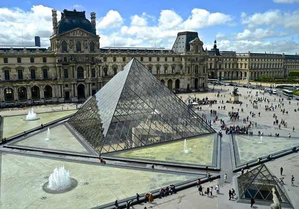 The Louvre Gallery, France