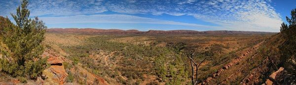 The Australian outback is huge and beautiful