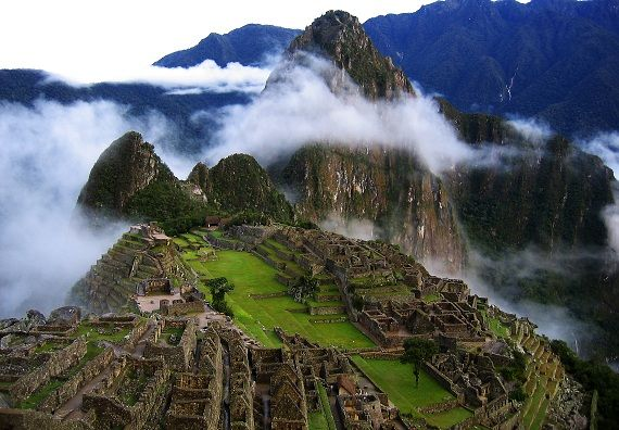 Machu Picchu (at the end of the Inca Trail)