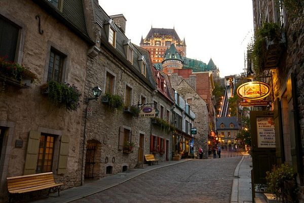 Old Quebec or Vieux-Quebec, Canada