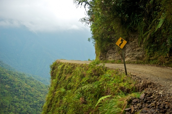 A death (road) defying descent Featured Image