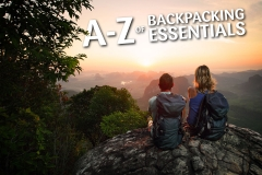 A to Z of Backpacking Essentials Featured Image