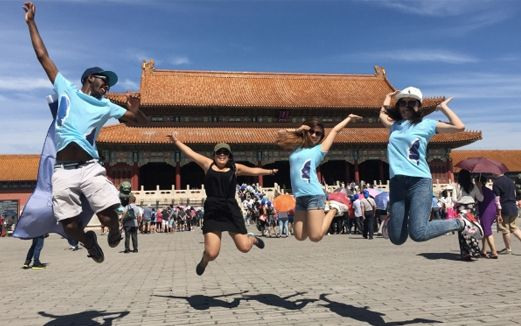 Au pair adventure in China